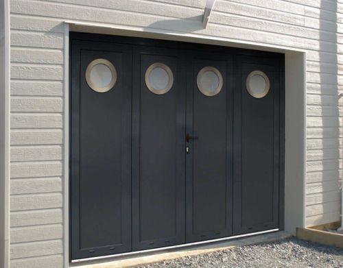 porte de garage battante motif perrier